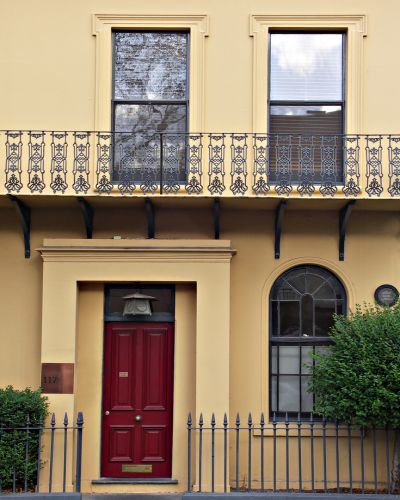 Exterior Painting, Terraced House, Sydney